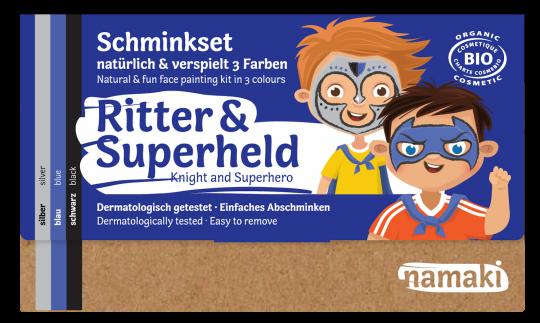 "namaki - Kinderschminkset ""Ritter & Superheld"""