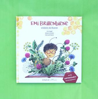 Emi Brillenbiene Kinderbuch mit BIO-Saatgut