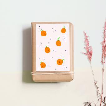 """noull - Postkarte """"Orangen"""""""