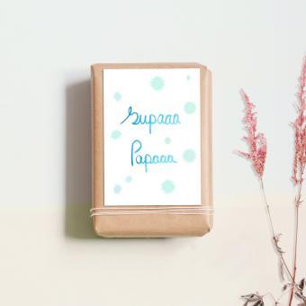 """noull - Postkarte """"supaaa Papaaa"""""""