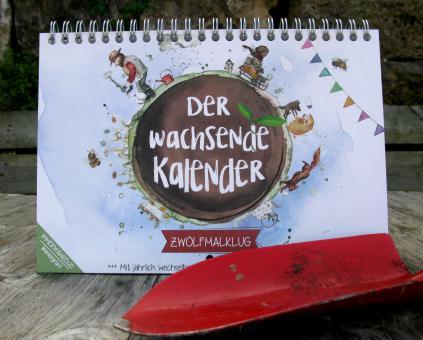 Der Wachsende Kalender - Zwölfmalklug & Samenstreifen